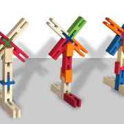 Dutch Windmill made with luco wooden toys