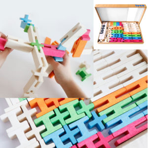 Luco medium set 65 pieces rubberwood the must have for children